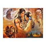indians wolfs eagle