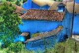 House in Juzcar, Andalucia