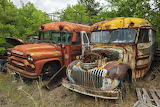 Bus Junkyard