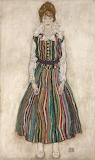 Egon Schiele, Portrait of the Artist's Wife, 1915