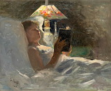 Georg Pauli, The Reading Light, 1884