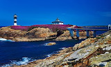 Spain Coast Lighthouses Bridges Stones Isla Pancha 515251 1280x7