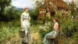 Gossips ~ Henry John Yeend King