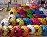 Parasols in Laos