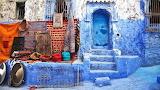 Morocco-Chefchaouen-street market-by-Sandra-Jordan