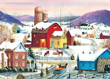 Winter Neighbours by Mary Ann Vessey...