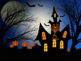 Castles Halloween Movies Pumpkin Silhouette 554449 1365x1024