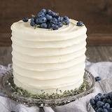 Blueberry banana cake