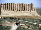 Grand Kyz Qala Palace. Ancient Merv. Turkmenistan