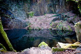 Old Granite Quarry, Kennall Vale, Cornwall, Kernow