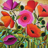 big poppies, Peggy Davis