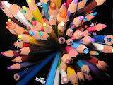 Colored-Broken-Used-Pencils