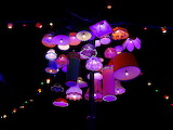 Wonderful Lampshades sculpture