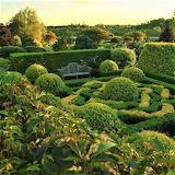 Bench garden of Orekhovno Estate Russia