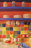 colorfull kitchen