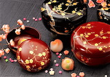 lacquer boxes by Yamada Heiando