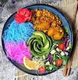 Colorful Food Bowl
