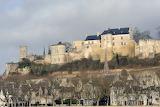 Château de Chinon sur la Vienne France