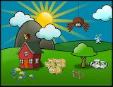 En el camp amb animals
