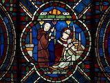 Canterbury Cathedral, Thomas Becket stained glass