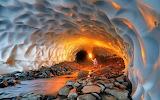 Tunnel de neige Russie