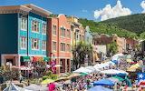 Summer fair in Park City - Utah