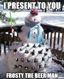Frosty the Beer Man