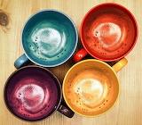Rotate Coffee Cups