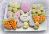 ^ Easter decorated cookies