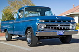 Ford F100 pickup blue MOD