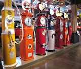 ☺♥ Antique gasoline pumps...