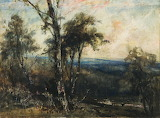 Stormy Landscape, 1881, Cecil Lawson