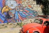 Oaxaca Mexico Mural