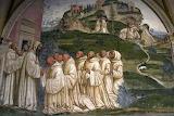 Abbazia Monte Oliveto Maggiore Siena affresco Sodoma 14 monte-ac