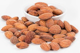 ^ Roasted salted almonds