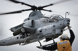 AH-1Z Viper lands on USS Makin Island LHD-8