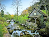 working watermill