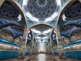Tashkent Uzbekistan Metrostation
