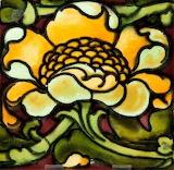 Lewis Day ceramic tile