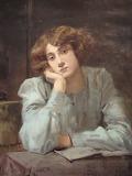 Maximilienne Guyon, Jeune fille accoudée, 1897