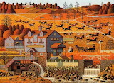 The Foxy Fox Outfoxes the Fox Hunters by Charles Wysocki