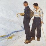 Fernand Lantoine, Printemps à Tromsö, 1934