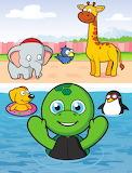 Tiki the Turtle Loves to Swim!