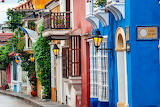 Colored-houses-Cartagena