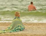 Summer wave quilt