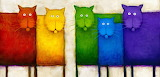 ^ Rainbow Cats ~ Dan Kessler