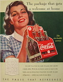 Coke welcome advertisement
