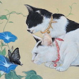 Cats and Butterfly