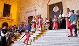 Cavalieri di Rodi cerimonia medievale
