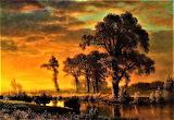 Western Kansas-Albert Bierstadt
